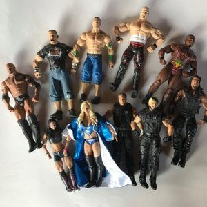 Wrestling & Other Figures-The Rock-John Cena +